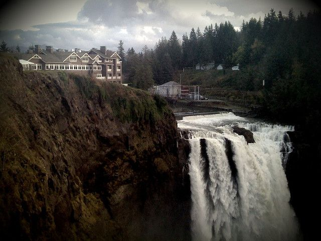 The Great Northern Hotel (Twin Peaks) Snoqualmie Falls, Washington State USA