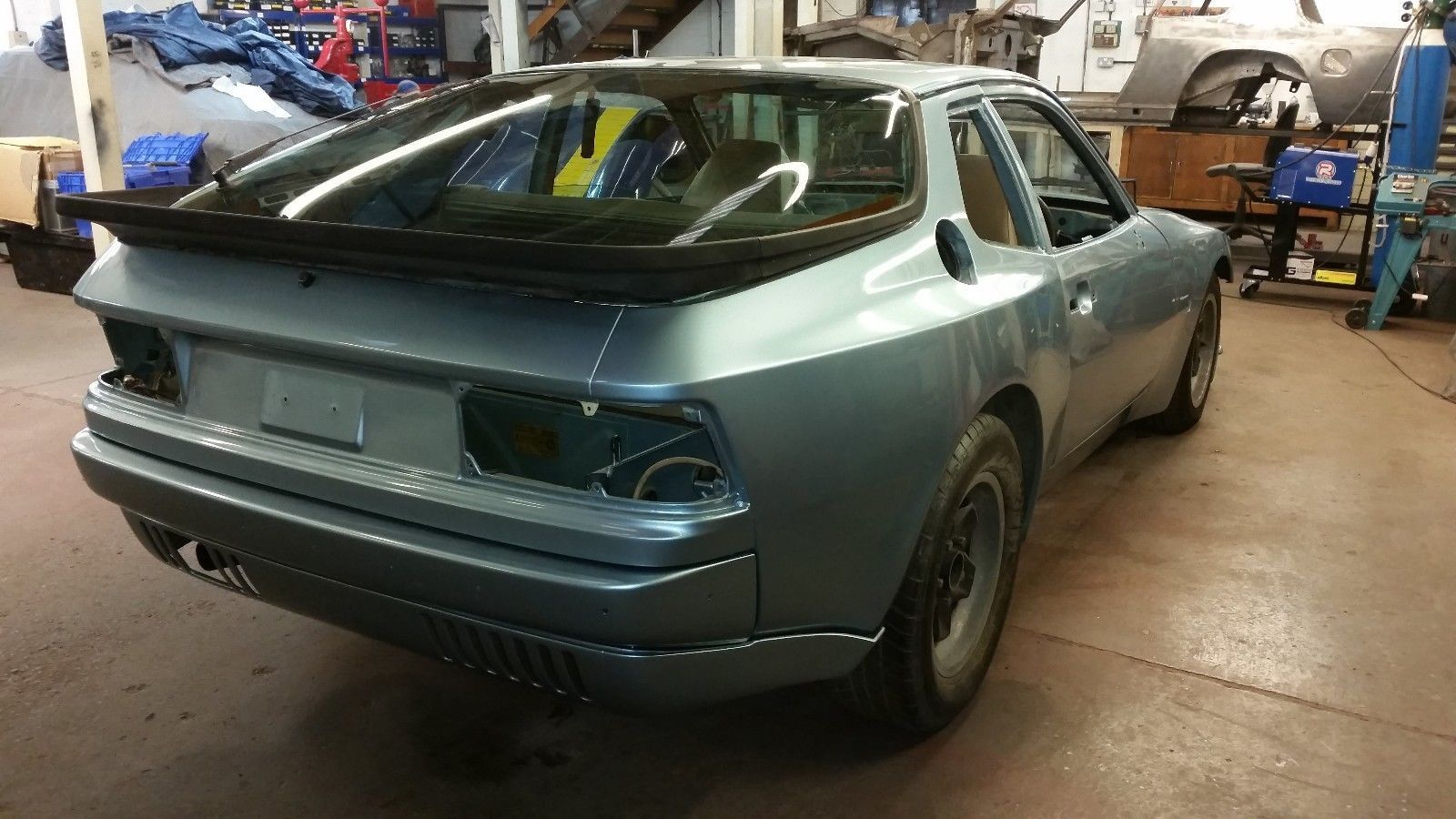 Porsche 944 - 1982 - Unfinished Project   Cars and Vehicle