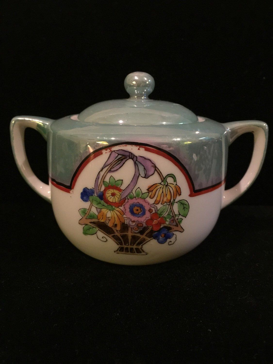 A personal favorite from my Etsy shop https://www.etsy.com/listing/258901416/vintage-noritake-sugar-bowl-handpainted