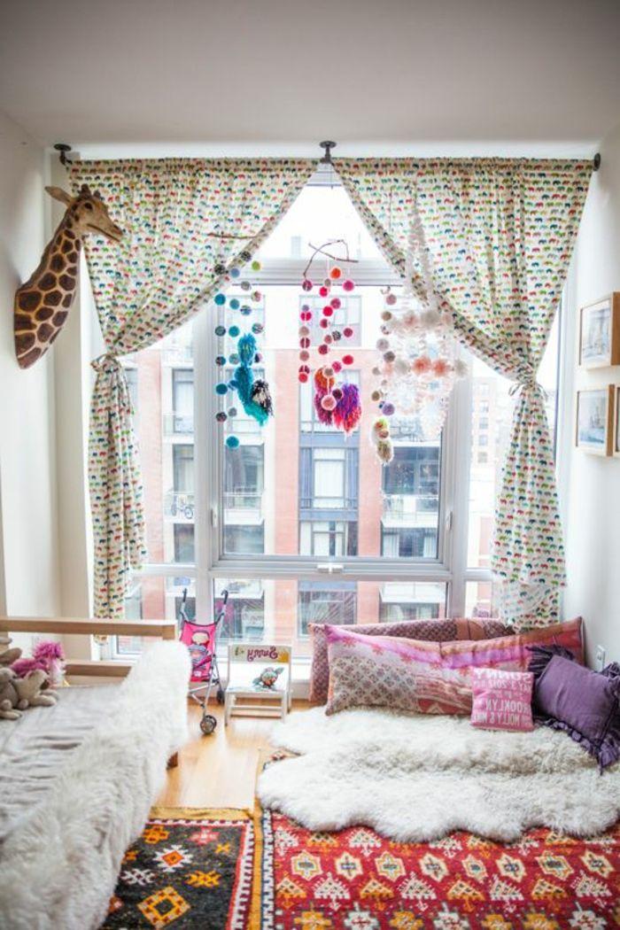 Idées en 50 photos pour choisir les rideaux enfants Nursery - Amenager Une Chambre D Enfant