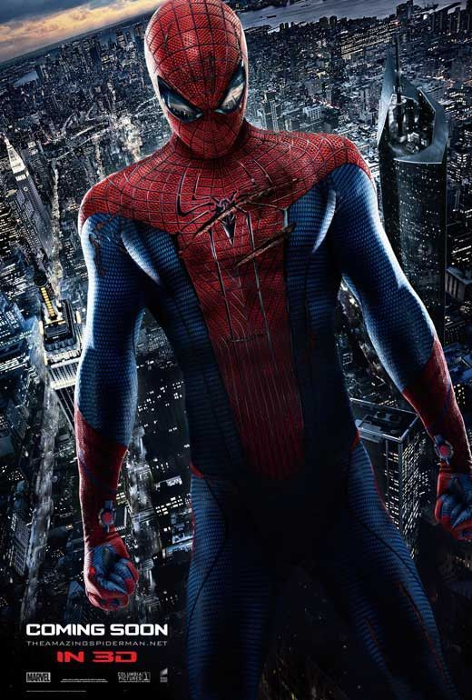 The Amazing Spider Man 27x40 Movie Poster 2012