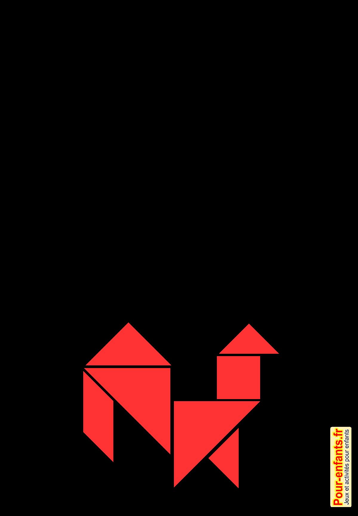 Jeux de p ques imprimer jeu de tangram gratuit paques enfants tangram imprimer et d couper - Image de paques a imprimer ...