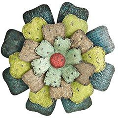 hippie chic floral wall decor from pier 1 imports metal flower - Metal Flower Wall Decor