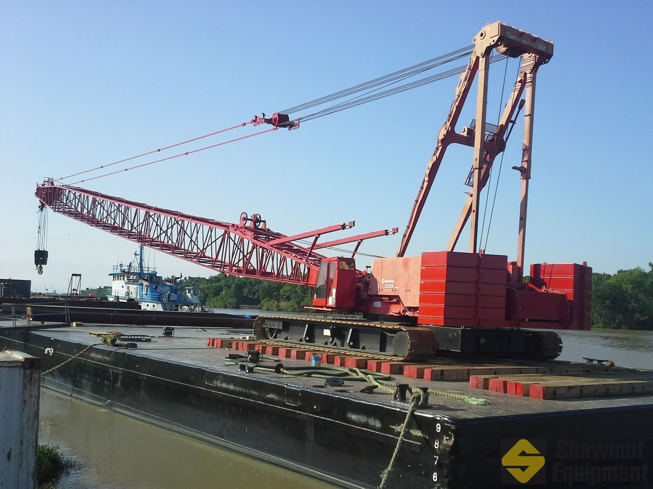 1999 Manitowoc 2250 Iii 300 Ton Lattice Boom Crawler
