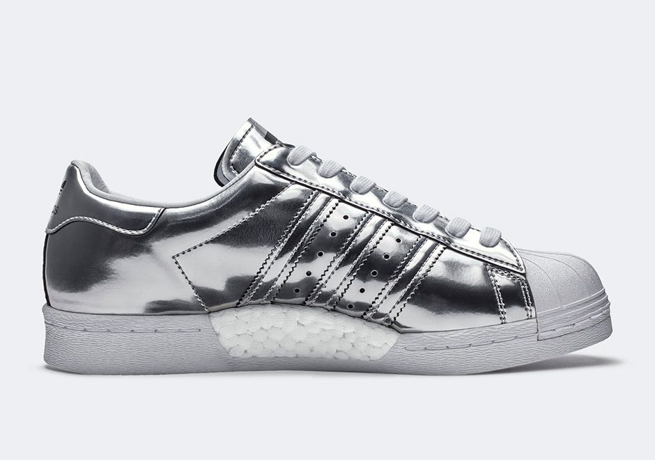 on sale 02cf5 8b593 adidas Superstar Boost Super Star, Superstars Shoes, Adidas Superstar,  Kicks, Metallic,