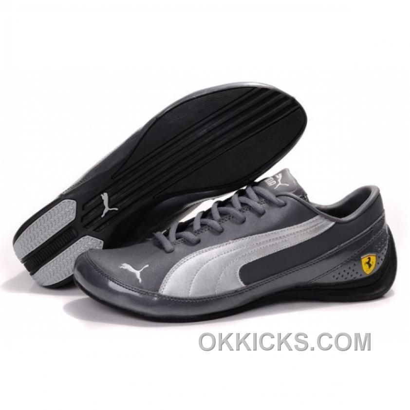 Find this Pin and more on Mens Puma Speed Cat. Buy Men Puma Speed Cat  Ferrari Gray Silver Shoes ...