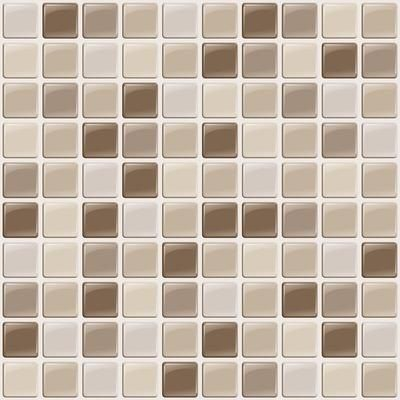 Smart Tiles Multi Colored Peel And Stick Harmony Mosaik 10 Inch X 10 Inch Home Depot Canada