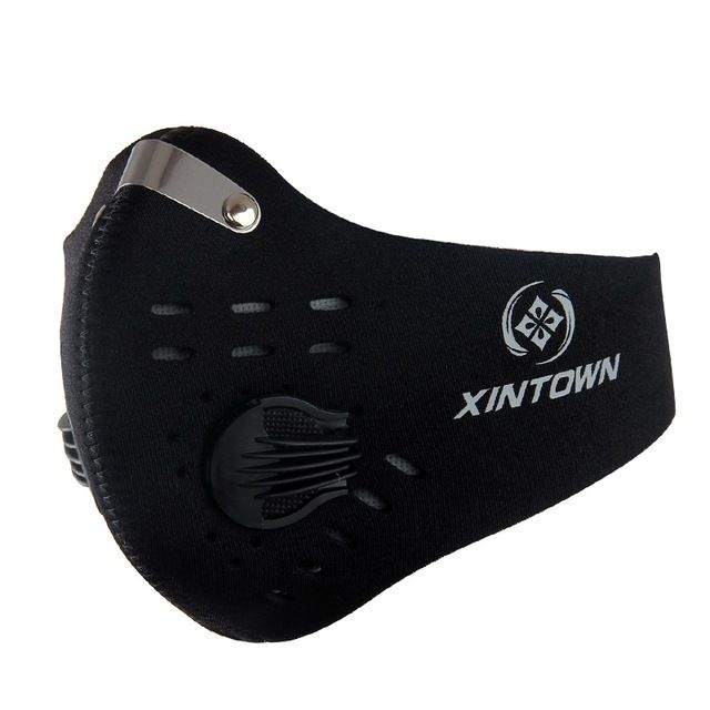 Face Mask Half Anti Dust Pollution Filter Sport Cycling Bicycle Bike Face Shield