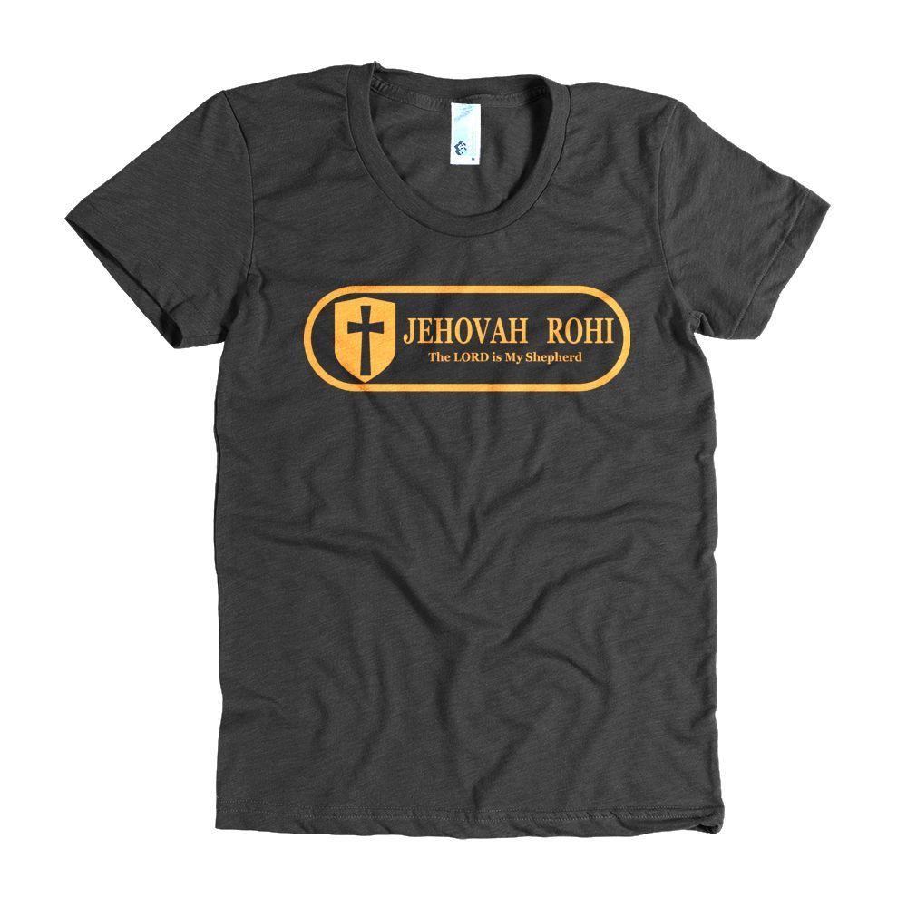 Women's short sleeve t-shirt(Front & Back Print) - JEHOVAH ROHI