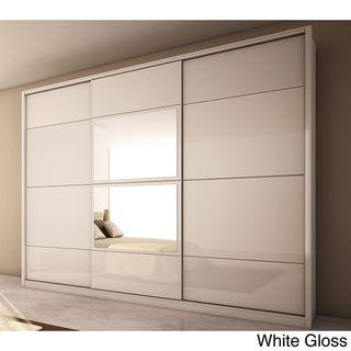 Manhattan Comfort U0027Nohou0027 3 Door Wardrobe | Overstock.com Shopping   Big