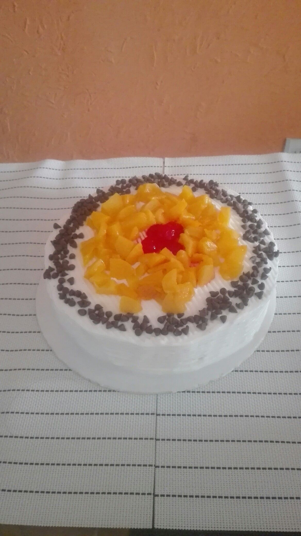 Torta de duraznos