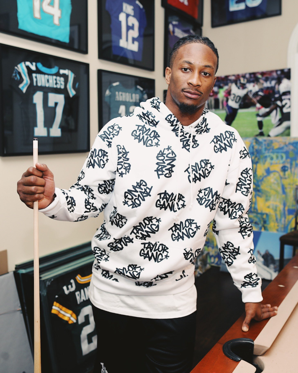 Taylor Gang On Twitter Taylors Gang Todd Gurley Lounge Outfit