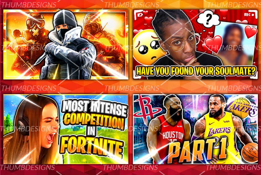 Design Eye Catching Gaming Youtube Thumbnail Youtube Thumbnail Thumbnail Design Youtube Design [ 740 x 1100 Pixel ]