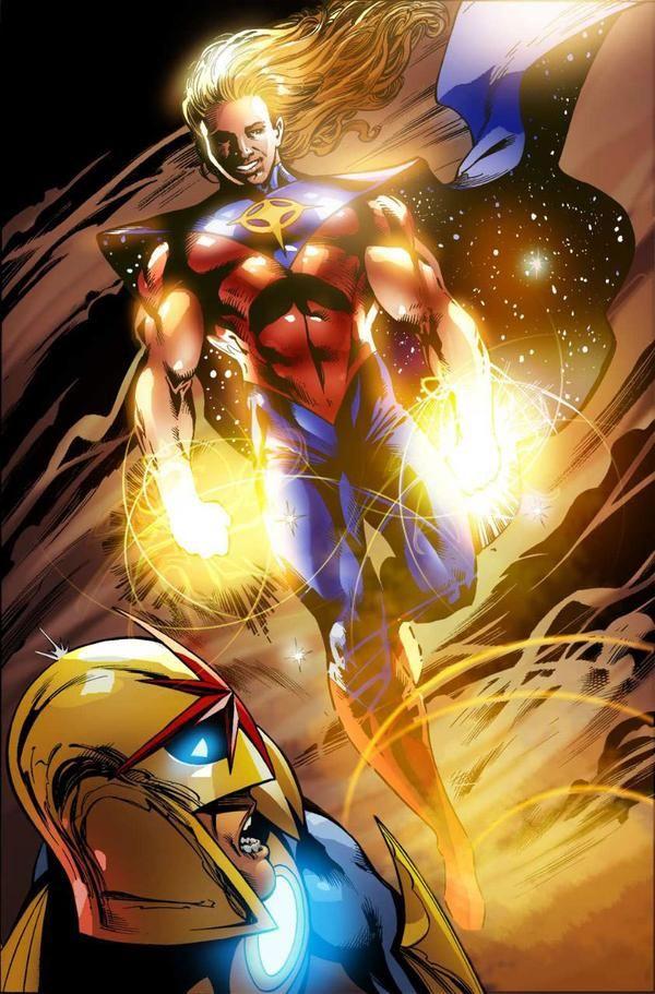 Quasar And Nova Marvel Marvel Comics Marvel Comic