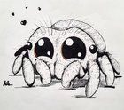 Lucas The Spider Sketch Instagram Com Submitted By Bluewolf224 To R Sketches 0 Comments Original Internat Spider Art Spider Drawing Spider Illustration