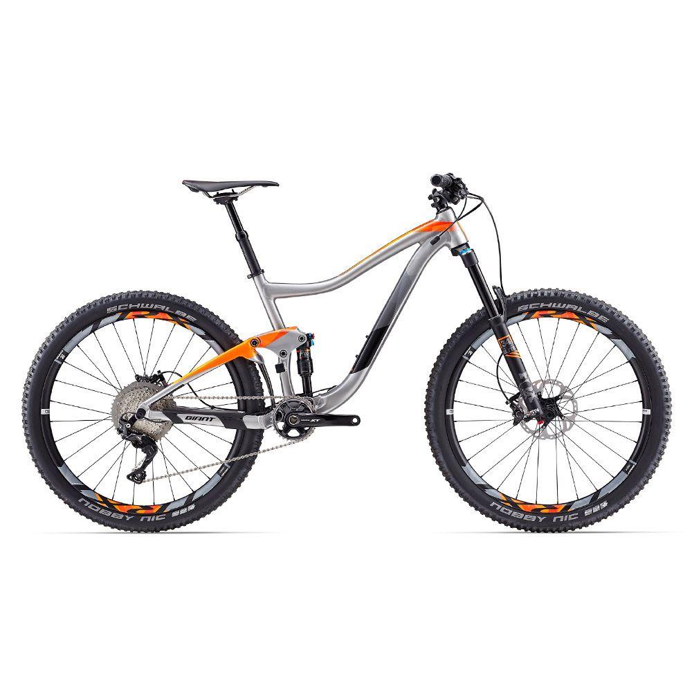 Giant 2017 Trance 1 27 5 Mtb Bike With Training Wheels Giant