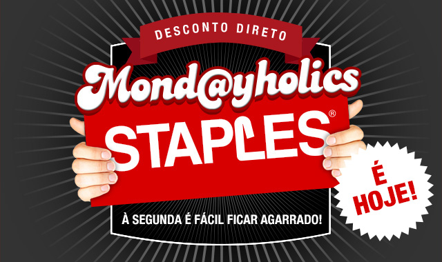 Segunda feira 4, Mond@yholics na Stapples