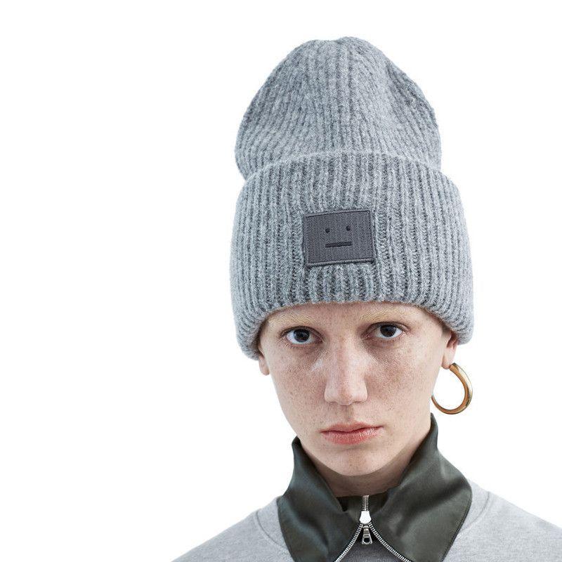 f4ad8e6e6b3 Acne Studios Wool Beanie. ACNE Pansy shet hat medium grey ...