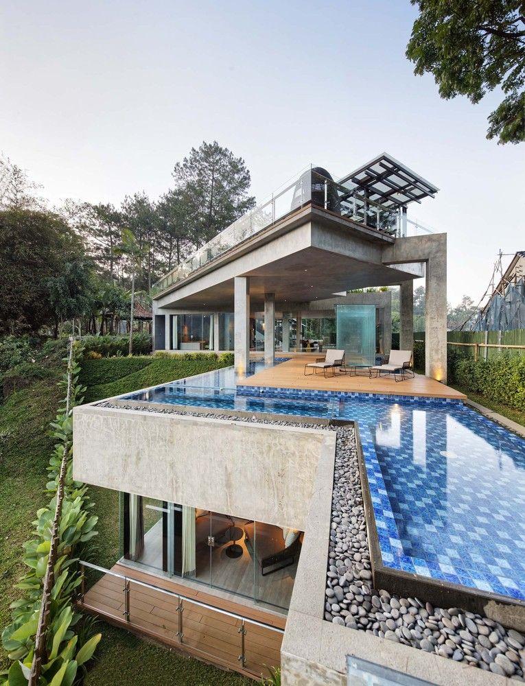 Gallery Of Hanging Villa Tws Partners 6 Villa