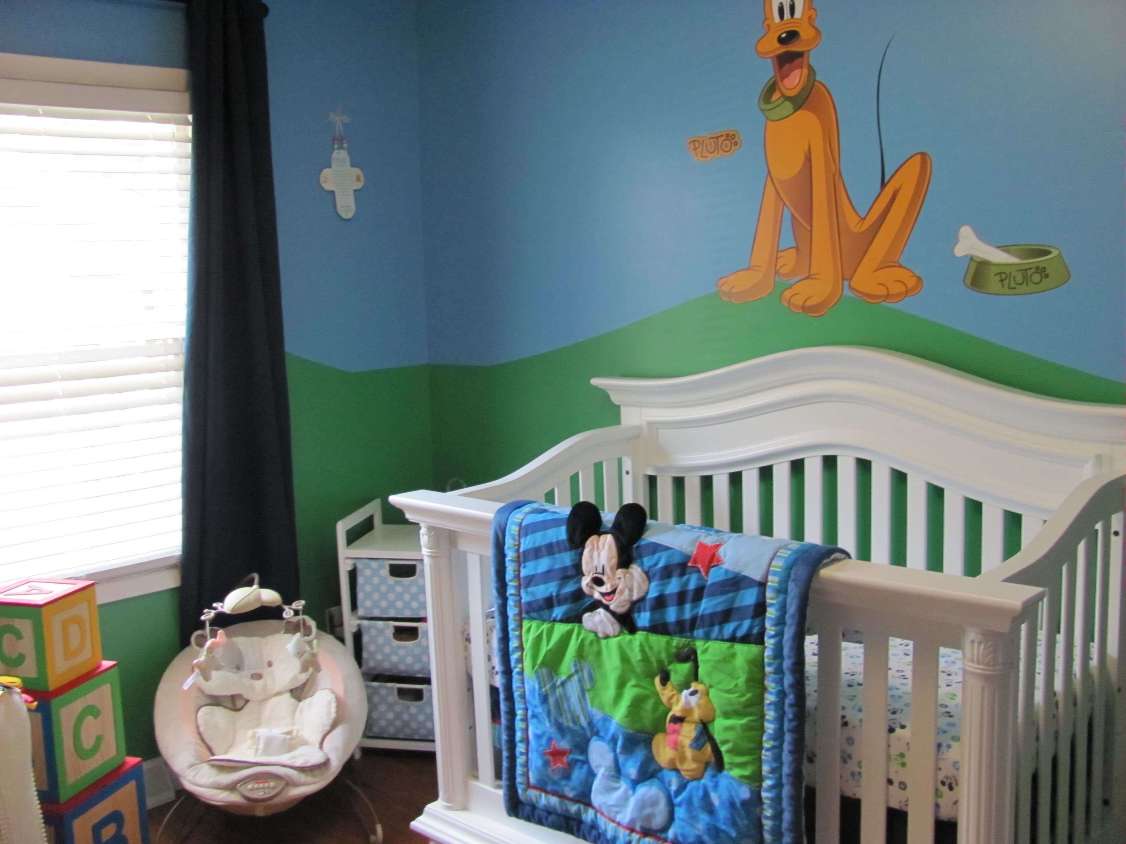 Our nursery designed by Megan and Brent Perry
