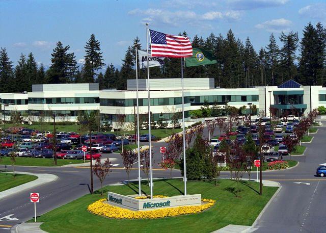 microsoft redmond office. Microsoft Headquarters In Redmond, Washington Redmond Office A