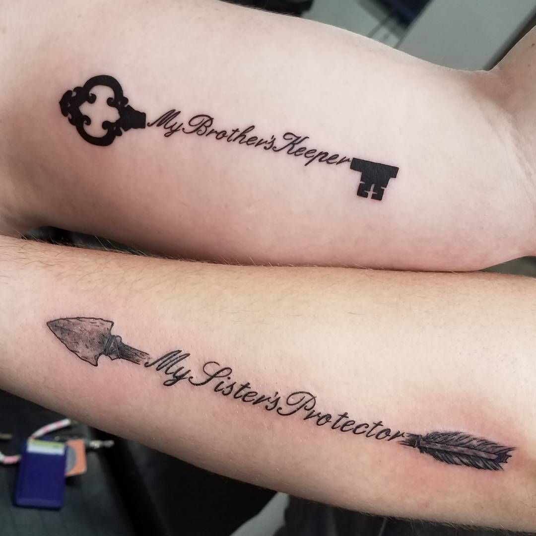 60 Brother Sister Tattoos For Siblings Who Are The Best Of Friends