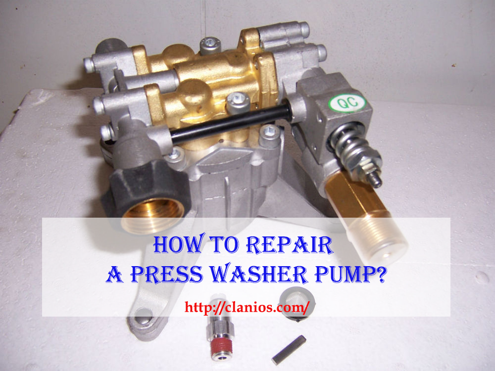 How To Repair A Pressure Washer Pump? Visit: http://clanios.com/how ...