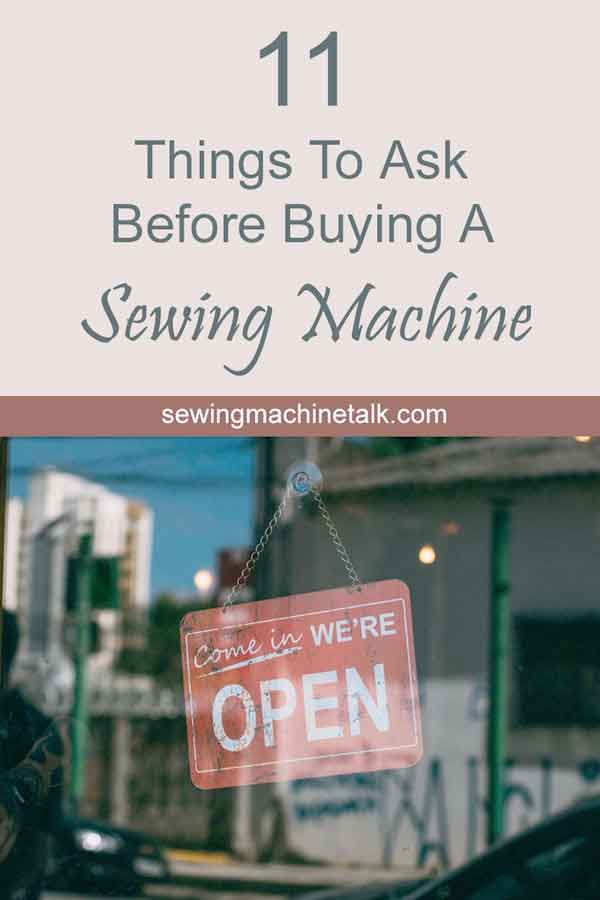 How To Buy a Used Sewing Machine (11 Important Tips ...