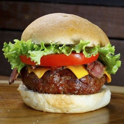 Smoky Hickory Burgers