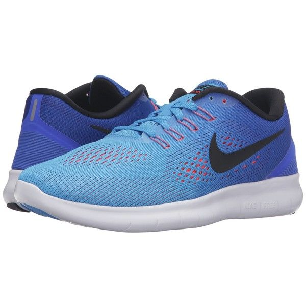 Gracias por tu ayuda SIDA carbón  Nike Free RN (Blue Glow/Black/Racer Blue/Bright Crimson) Women's... ($90) ❤  liked on Polyvore featuring shoes, athletic shoes, bre…   Nike, Nike free rn,  Blue shoes