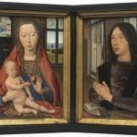 Diptiek van Maarten van Nieuwenhove - Hans Memling - 1487