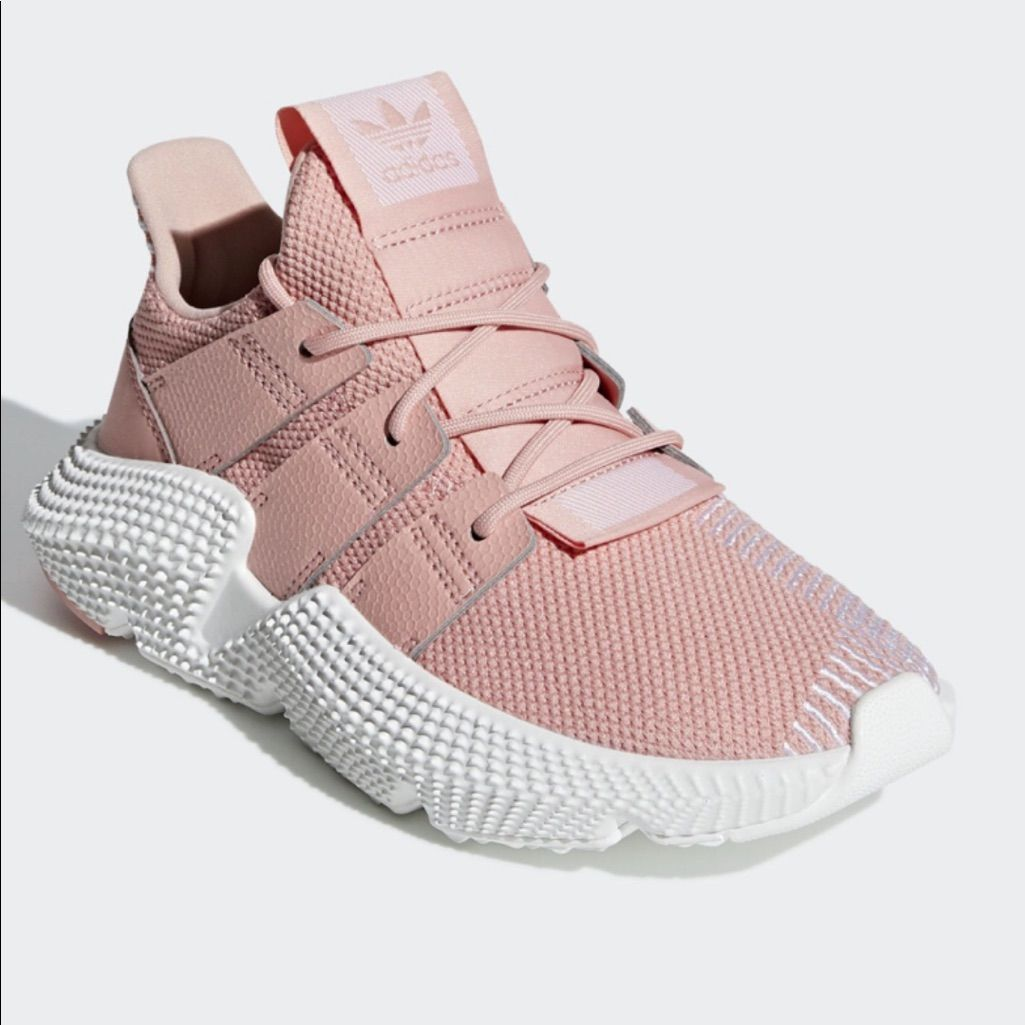 adidas Originals Prophere W Grey Silver White Women Running Shoes Sneaker CG6069
