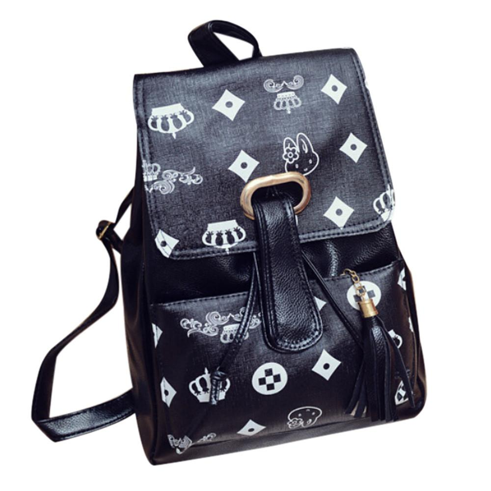 Backpack Men and Women Travel Computer black1 School Fashion Casual Computer BAG Backpack