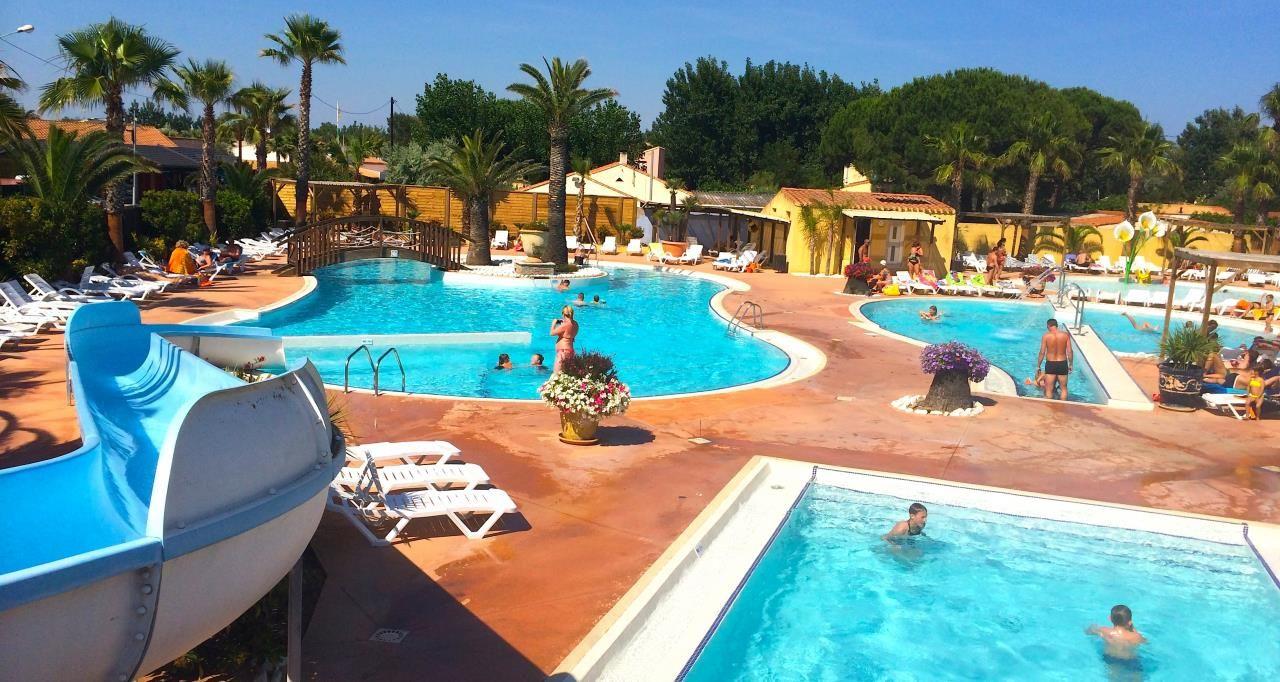 Camping à Marseillan Avec Piscine U2013 Les Méditerranées · Beach ClubSwimming  Pools