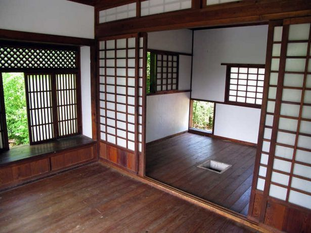 Japanese Home Architecture building traditional japanese houses | house design, sliding doors