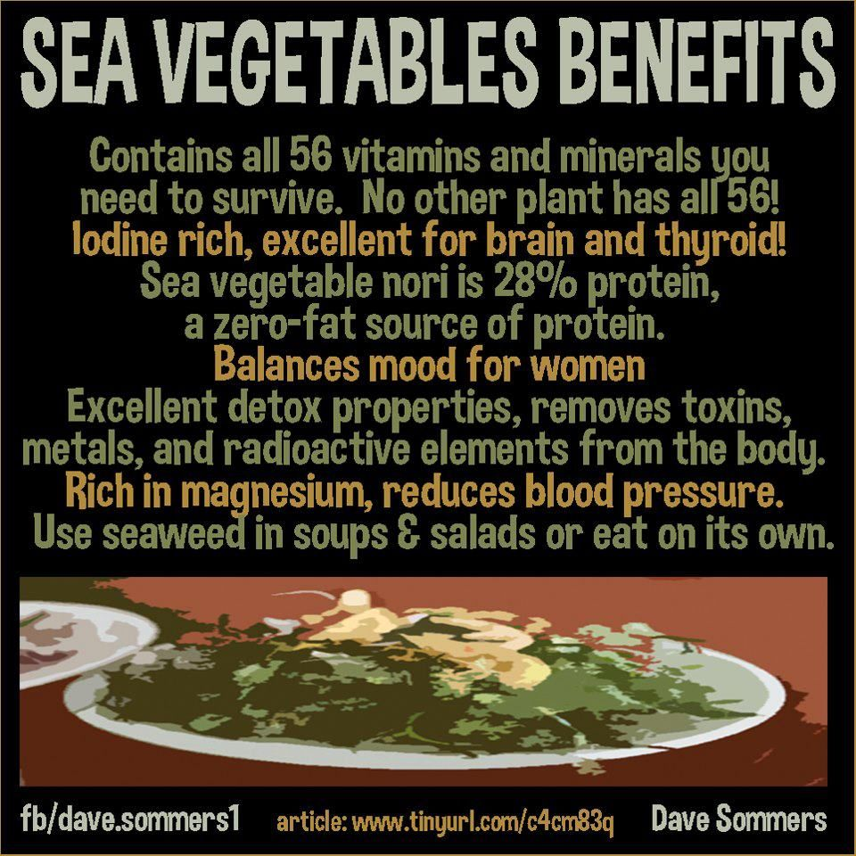 health benefits of seaweed ❥➥❥ and how to cook & eat sea