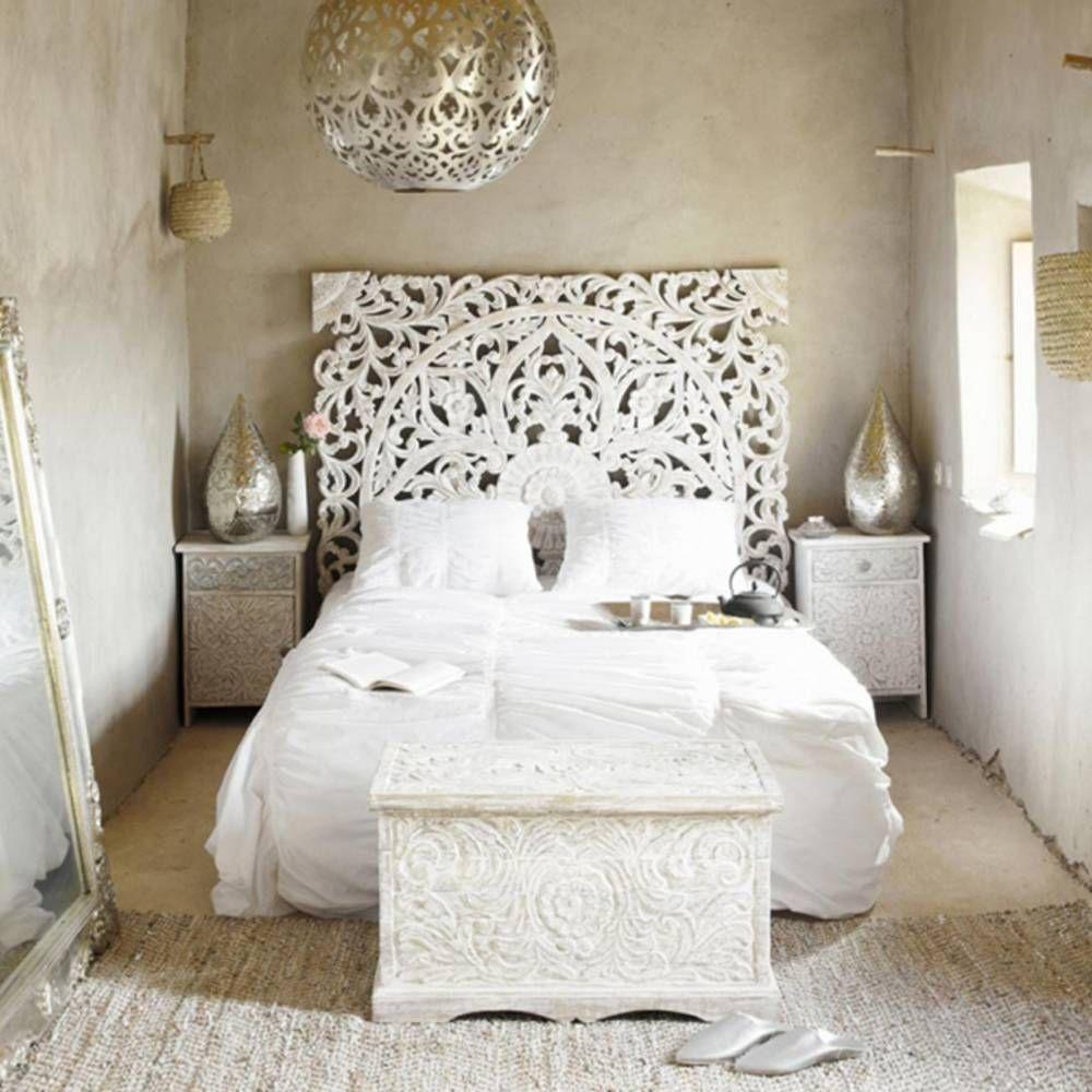 La chambre blanche en 15 façons - Elle Décoration | Home: Master ...
