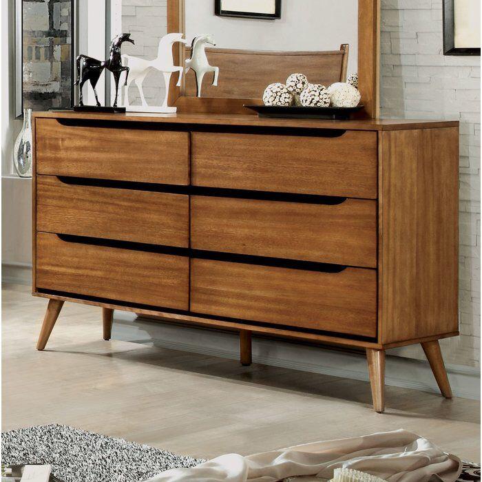 Best Mason 6 Drawer Double Dresser Wooden Dresser Diy 400 x 300