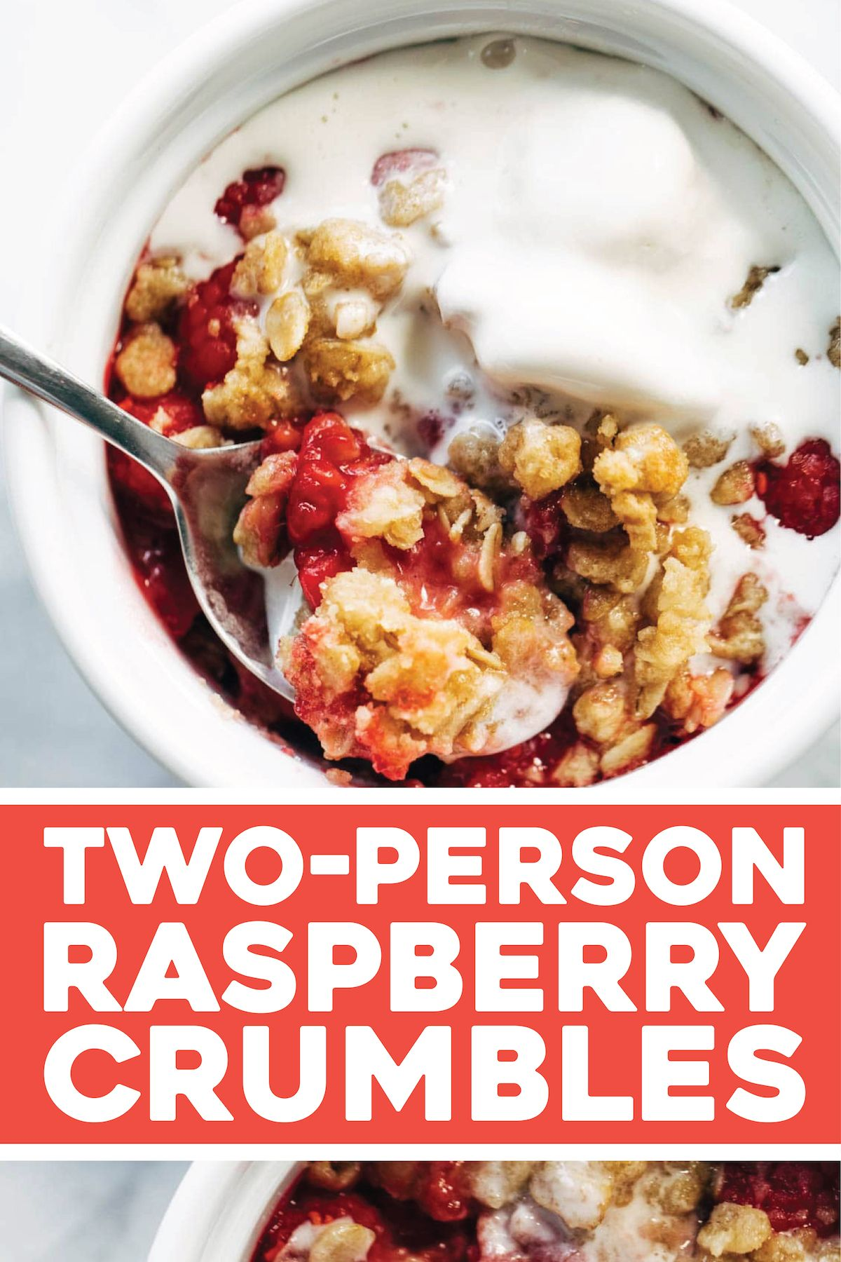 Two Person Raspberry Crumbles -   15 healthy recipes Desserts fruit ideas