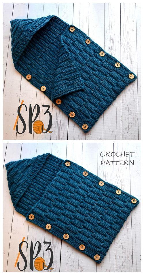 Crochet Pattern Baby and Childrens Sweater- Newborn to 6 years