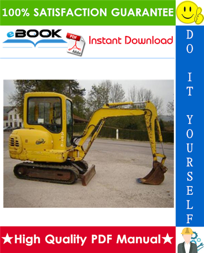 Komatsu Pc20 6 Pc30 6 Pc40 6 Hydraulic Excavator Service Repair Manual Hydraulic Excavator Komatsu Repair Manuals