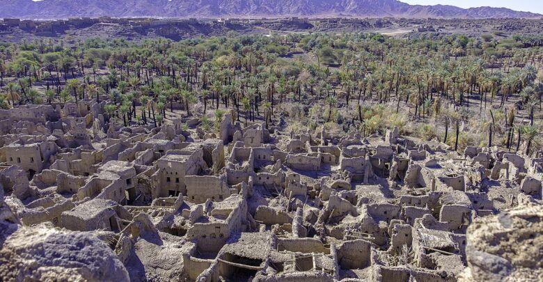 أين تقع خيبر وكيف وقعت غزوة خيبر City Aerial Photo