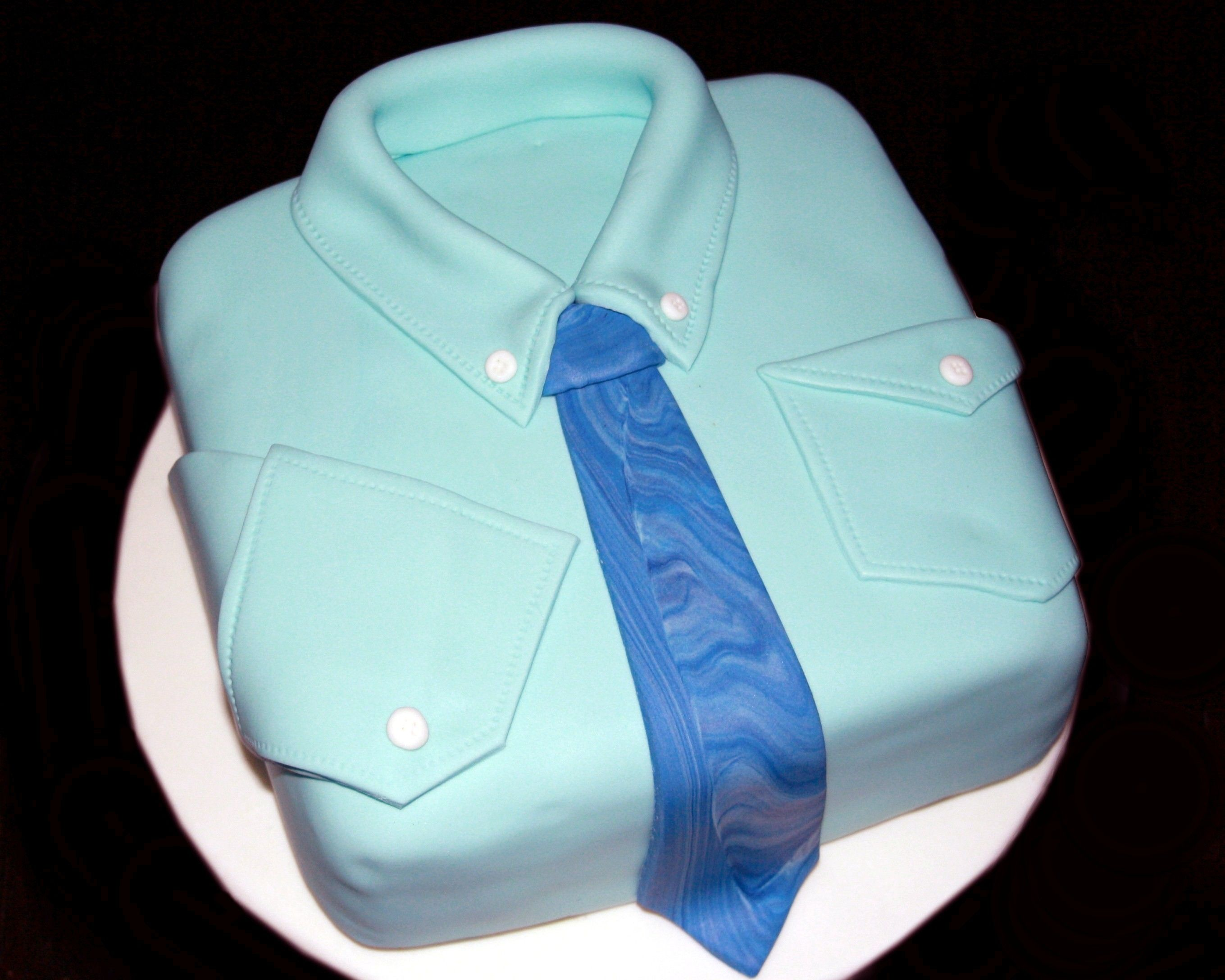 Father's day cake,  Shirt cake