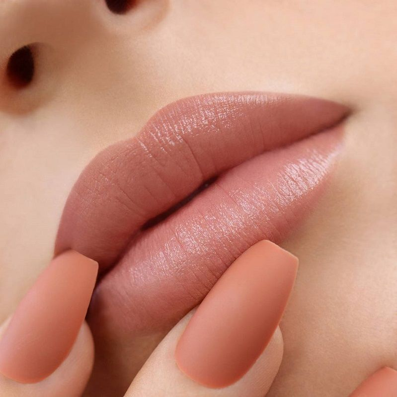 15 Stunning Lipstick Shades You Should Try - beautiful lip makeup ,lipstick color ,lip arts #lipstick #lipmakeup #mattelip #lipgloss #makeup