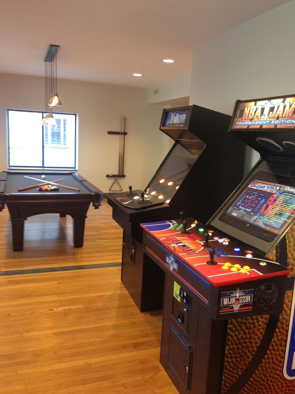 Game Lounge arcade machines. Free for our residents! New