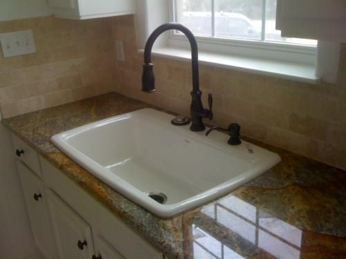 Amazing KOHLER Cape Dory Drop In Cast Iron 33 In. 2 Hole Single Bowl Kitchen Sink  In White