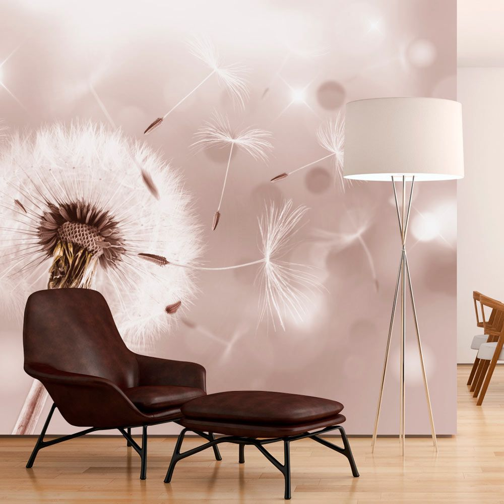 details zu fototapete pusteblume natur bokeh vlies tapete wandbilder 3 farben b c 0072 a b. Black Bedroom Furniture Sets. Home Design Ideas