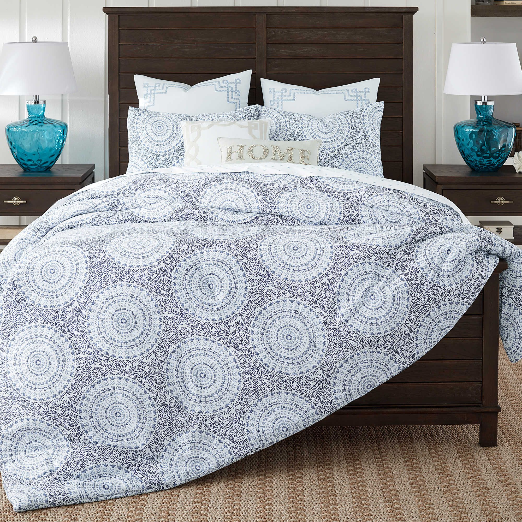 Bon Coastal Living Floral Medallion Comforter Set   Bed Bath U0026 Beyond