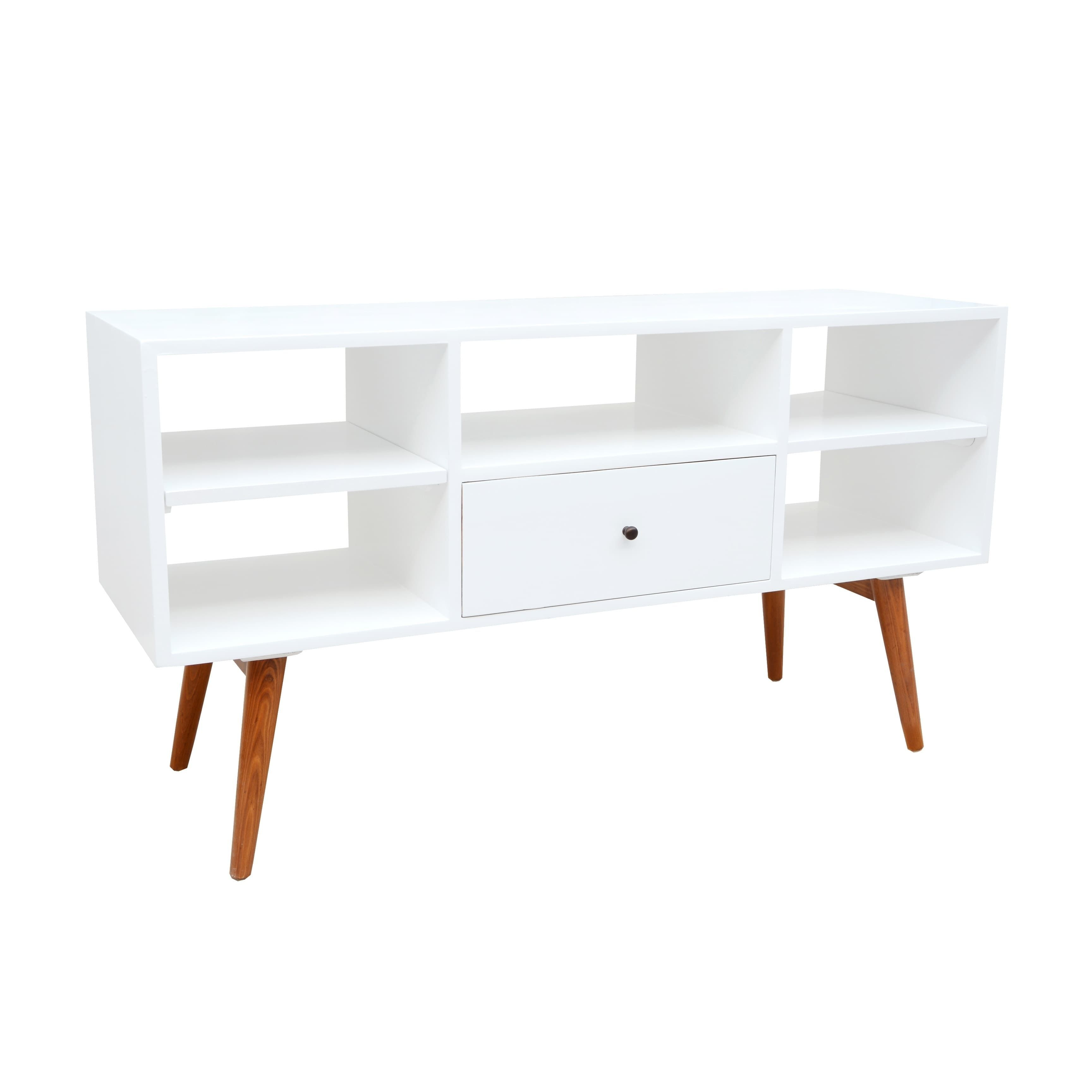 Porthos Home Kennedy Media Console Natural Brown