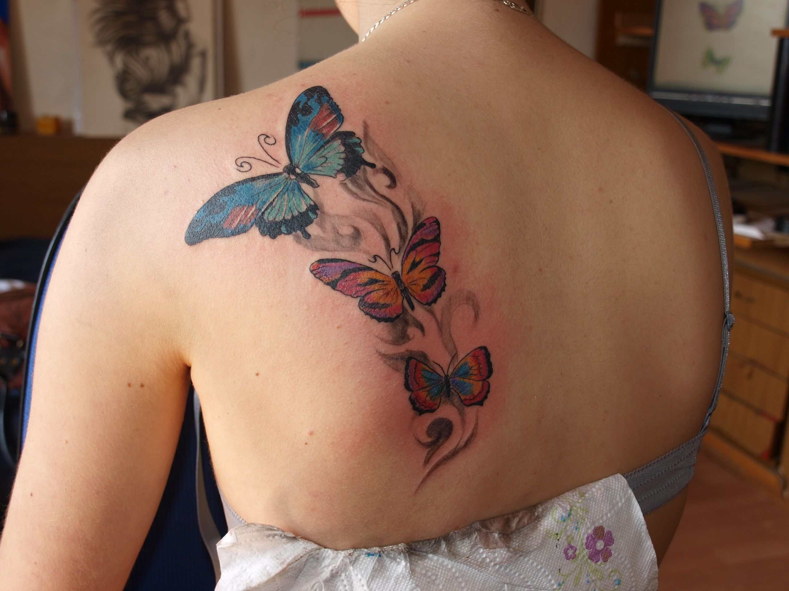 butterfly tattoo designs with names | butterfly tattoo designs